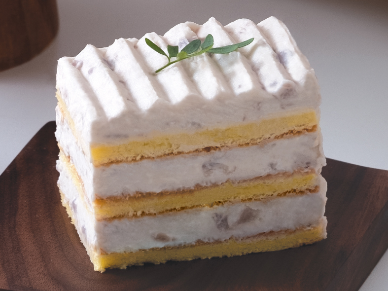 Taro Glutinous Rice Layer Cake